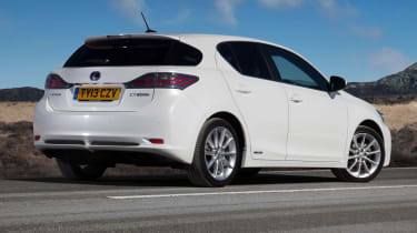 Used Lexus CT - rear