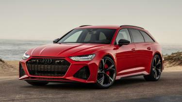 Audi RS 6 Avant - front static