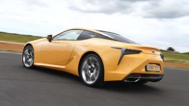 Lexus LC - rear