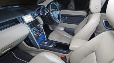 Land Rover Discovery Sport long-term - fifth report interior
