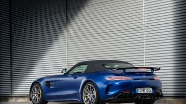 Mercedes-AMG GT R Roadster - rear roof up