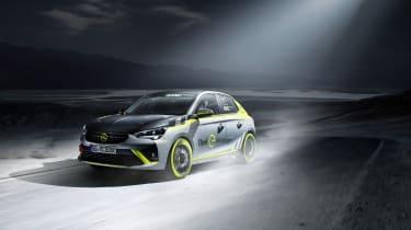Vauxhall Corsa-e rally - tracking