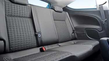 Vauxhall Astra GTC rear seats
