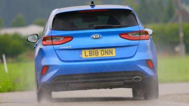 New Kia Ceed UK rear end