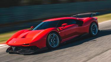 Ferrari P80/C - front tracking