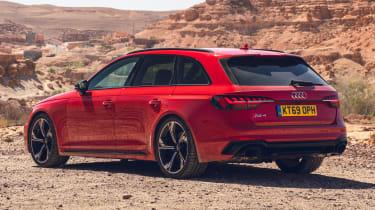 Audi RS 4 Avant - rear static
