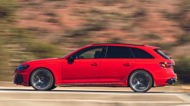 Audi RS 4 Avant - driving profile