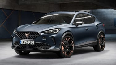 Cupra Formentor - front static