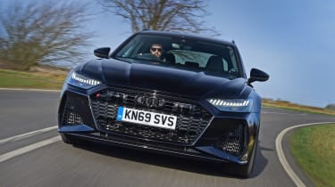 Audi RS6 2020 review - driving