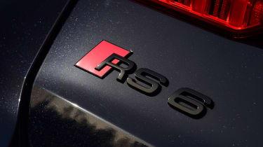 Audi RS6 2020 review - badge