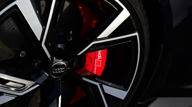 Audi RS6 2020 review - wheel