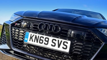 Audi RS6 2020 review - grille