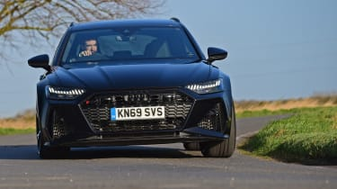 Audi RS6 2020 review - nose