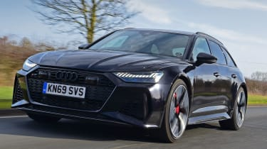 Audi RS6 2020 review - front racking