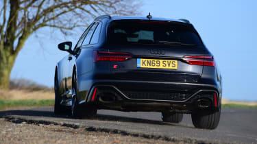 Audi RS6 2020 review - cornering