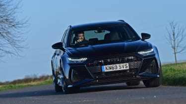 Audi RS6 2020 review - head on