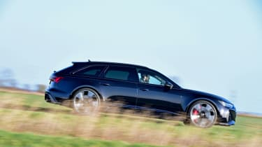Audi RS6 2020 review - paning
