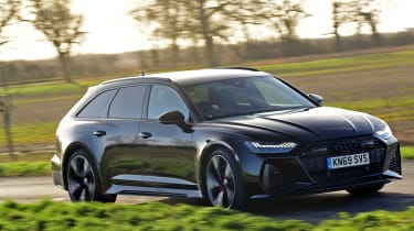 Audi RS6 2020 review - front