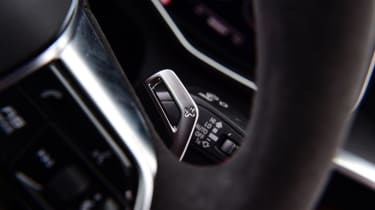 Audi RS6 2020 review - shifter