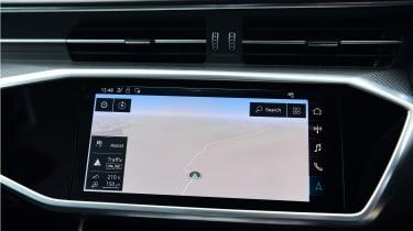 Audi RS6 2020 review -screen