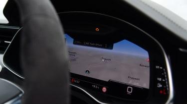 Audi RS6 2020 review - virtual cockpit