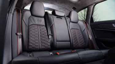 Audi RS6 2020 review - seats