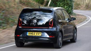 Volkswagen up! - rear driving