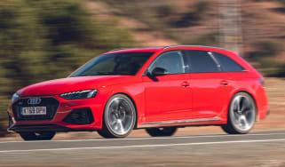 Audi RS 4 Avant - driving front