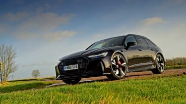 Audi RS6 2020 review - front static