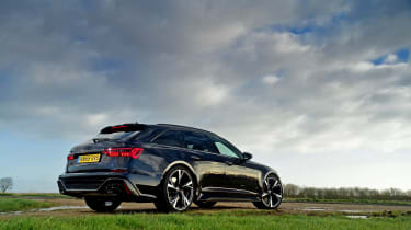 Audi RS6 2020 review - rear static