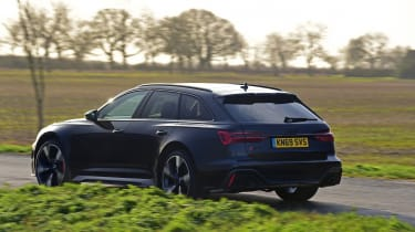 Audi RS6 2020 review - rear