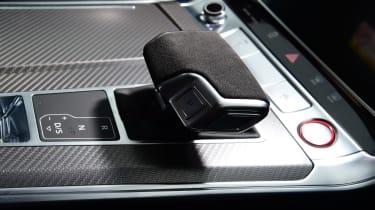 Audi RS6 2020 review - gear selector