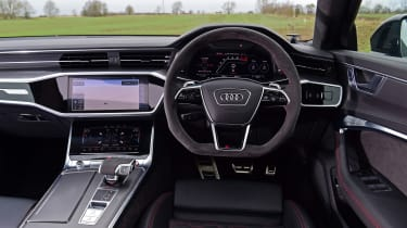 Audi RS6 2020 review - dashboard