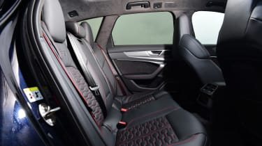 Audi RS6 2020 review - rear seats