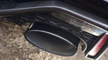 Audi RS6 2020 review - exhaust