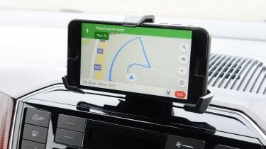 Volkswagen up! - phone cradle