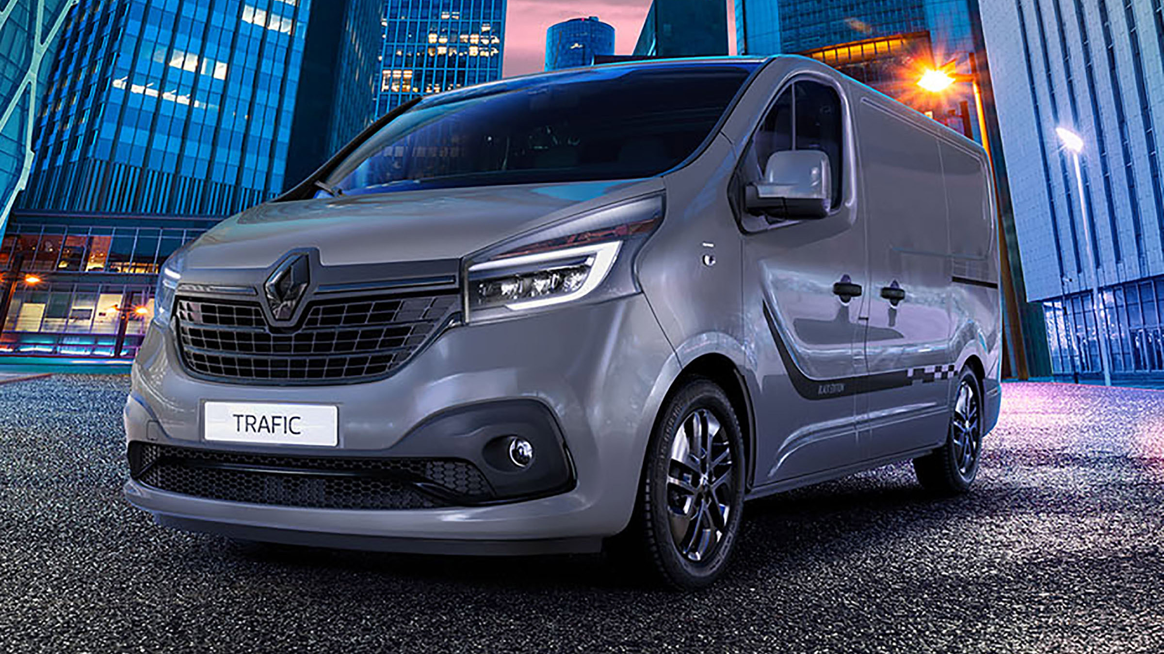 New Renault Trafic Black Edition Revealed Auto Express